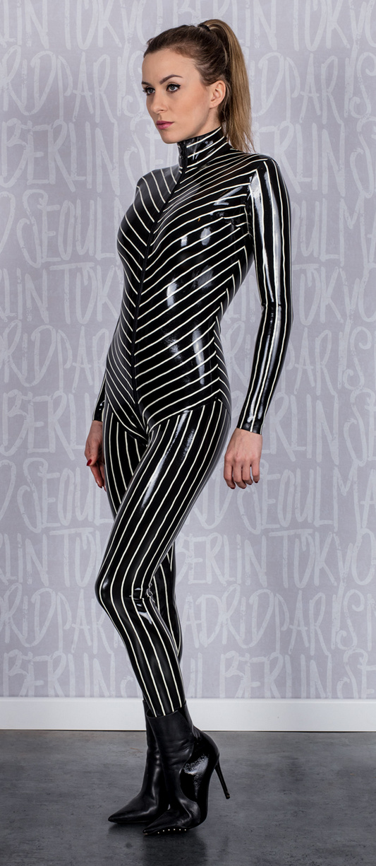 futurefetish latex - New latex catsuit available in our shop. It is made of multicolored latex.