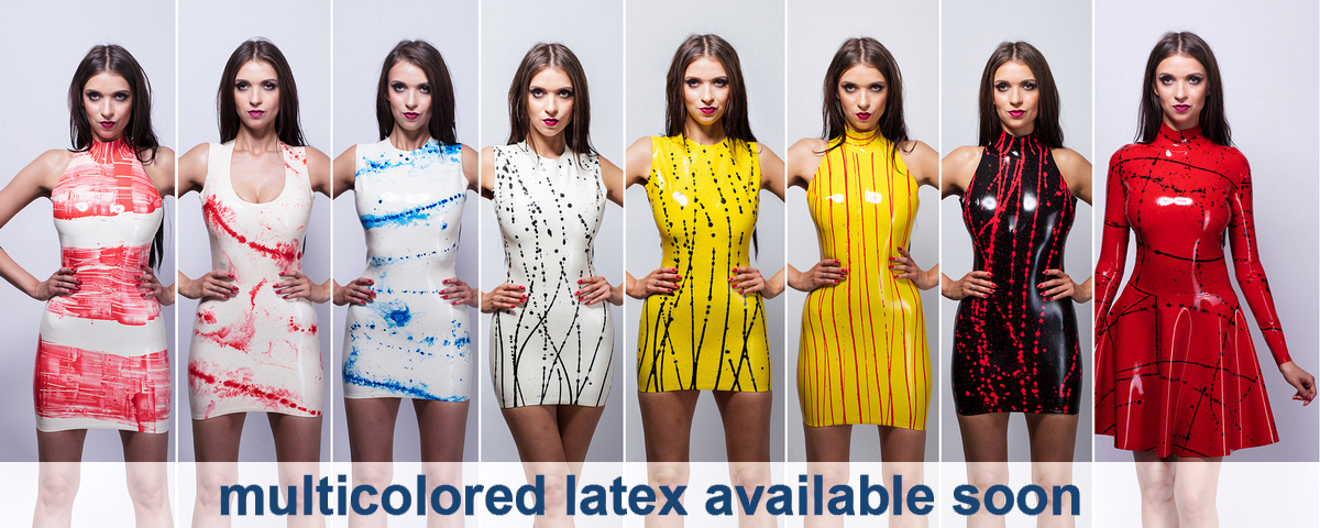 Multicolored latex availabe soon